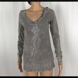 "Super Soft  ""Diamond"" Long Sleeve Tee Shirt"